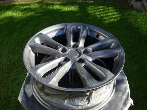 Painting Wheels Civic Si Youtube