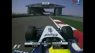 Fia Formula 1 r0519FP4 2005 Sinopec Chinese Grand Prix - Shanghai International Circuit - SuperSport