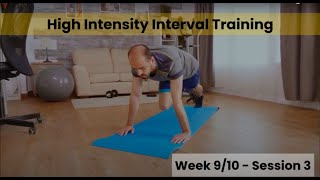 HIIT - Week 9/10 Session 3 (Control)
