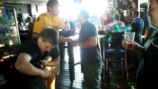 Beer fight yates blackpool 2011