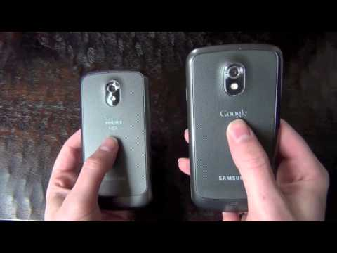 Samsung Galaxy Nexus 4G LTE Hands-on