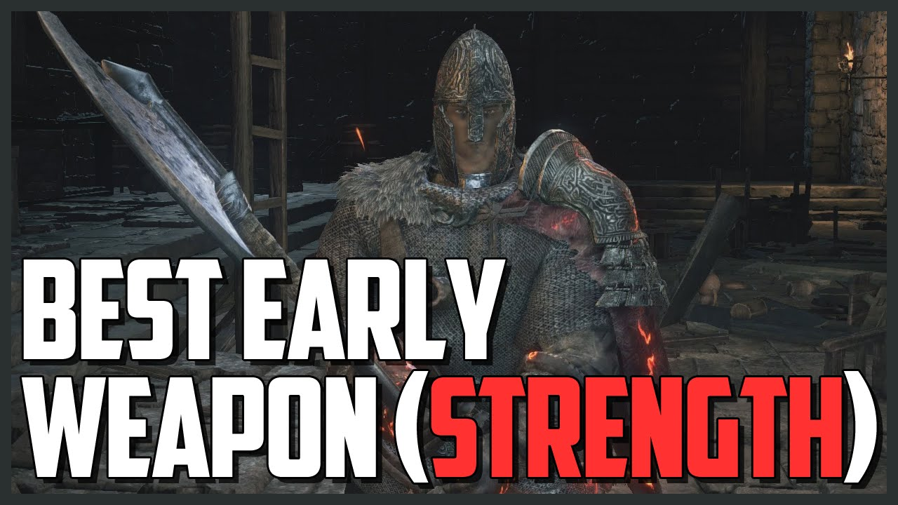 Top 5 strength/dexterity build weapons in Dark Souls 3