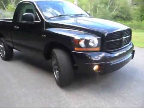 2006 Dodge Ram Night Runner Walk Around Short Interior Look Youtube