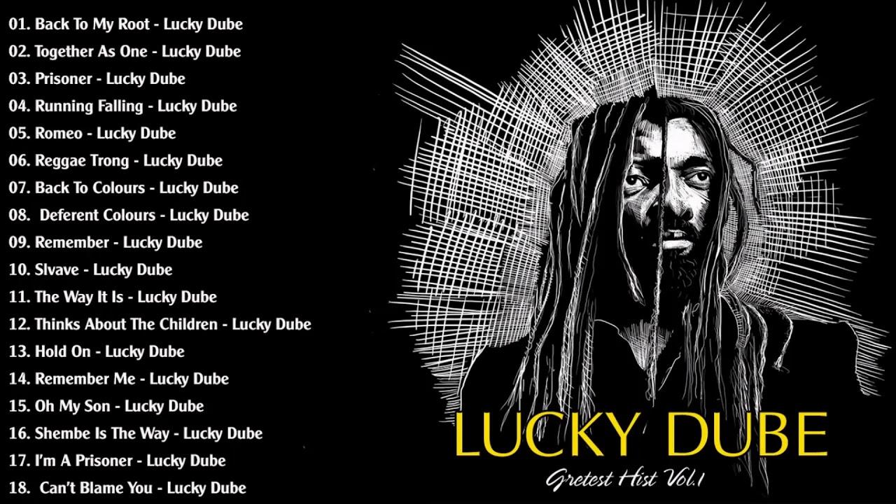 Top 40 Best Reggae Songs Of Lucky Dube - Lucky Dube Mix - YouTube