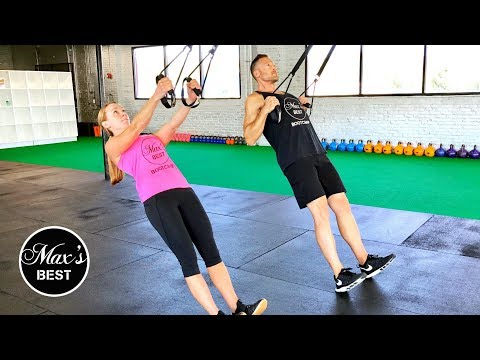 5 TRX EXERCISES TO BANISH BACK FAT | How To Perform The Best TRX Exercises For Back Fat Loss LIVE!