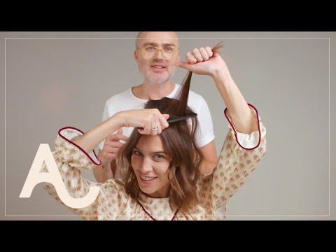 Alexa Chung Hair Tutorial How To Get A 60s Look | ALEXACHUNG