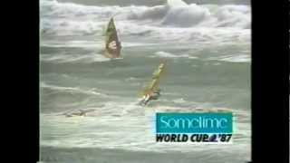 Sometime World Cup 87 Slalom Final Race under 40 knots!!