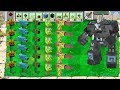 Plants vs Zombies Mod Minecraft : All Pea vs Dr. Zomboss