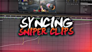 SYNCING SNIPIER CLIPS - AE The COMPLETE GUIDE Part 03 (Time Remap)