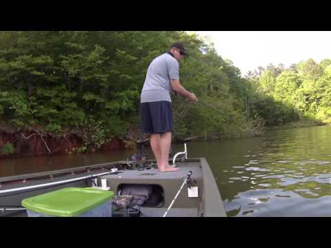 Falls lake bass fishing may 2015 youtube for Falls lake fishing