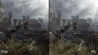 Metro Last Light Redux: PS4 vs PC Comparison