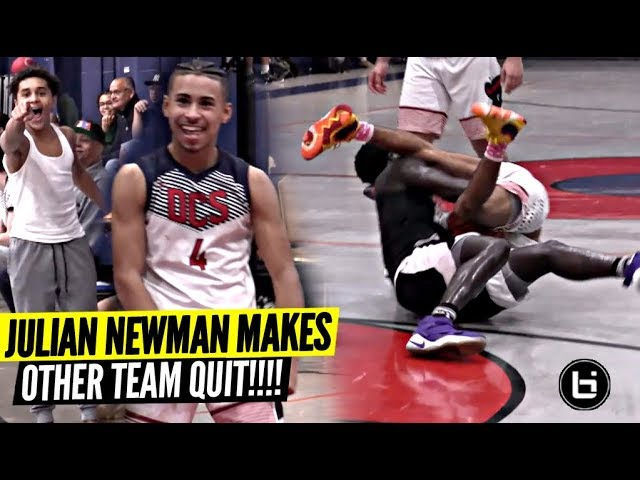 julian-newman-gets-team-so-heated-they-quit-w-10-minutes-to-go