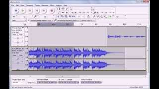 Using the Audacity Time Shift Tool & Multitrack Editing