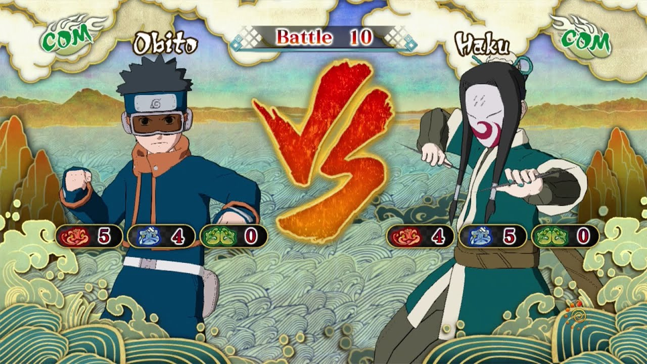 Naruto Shippuden: Ultimate Ninja Storm 3, Obito Uchiha VS ...