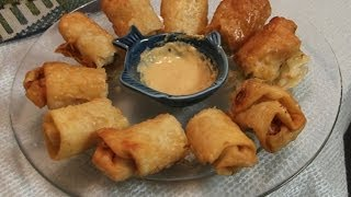 Chinese Egg Roll Recipe With Shrimp