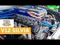 5L V12 Nissan S14 | 700HP Drift Car Engine Build [TECH TALK]