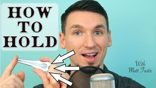 How To Hold the Jaw Harp (Jew's Harp) to Play - Hands, Lips & Teeth - Matt Tastic - Oberton Pro