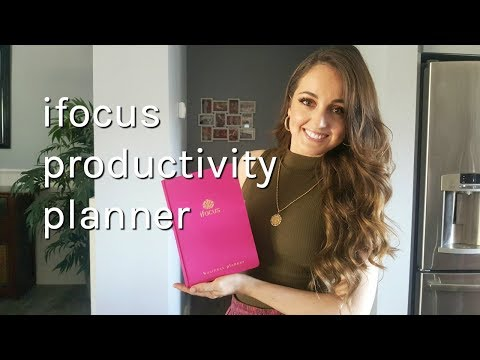 5 Productivity Tips for Planning Your Day ft. iFocus Productivity Planner!