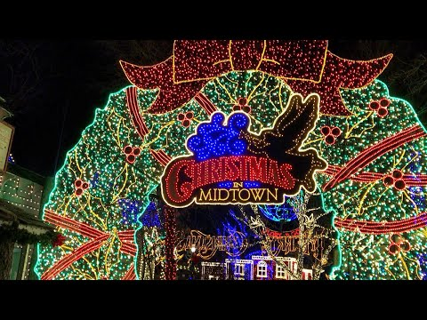 Silver Dollar City CHRISTMAS LIGHTS And PARADE 2019