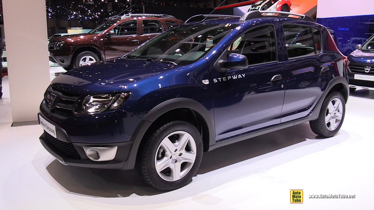 2016 dacia sandero stepway exterior and interior walkaround 2016 geneva motor show youtube. Black Bedroom Furniture Sets. Home Design Ideas