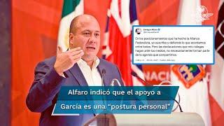 Aclara el gobernador de Jalisco que no estuvo en la conferencia de prensa realizada en la capital de Nuevo León