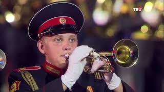Спасская башня - 2017. Фестиваль военных оркестров на Красной площади