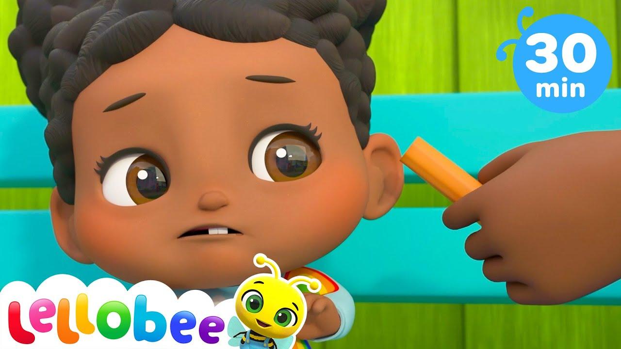 Yes Yes Vegetables Song!   @Lellobee City Farm - Cartoons & Kids Songs   Number Song   Nursery Rhyme