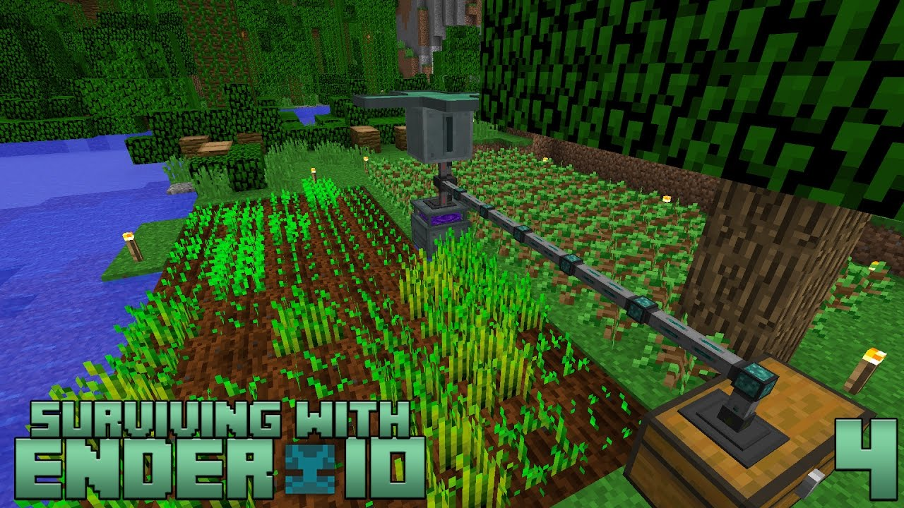 Surviving With Ender IO :: E04 - Farming Station
