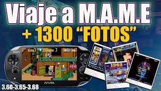 """MAME PSvita 1.300 """"FOTOS""""   3.60 3.65 3.68"""