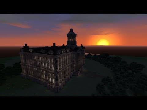 Royal Palace Amsterdam - Timelapse - Minecraft