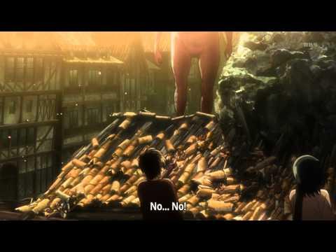 Attack On Titan/Shingeki No Kyojin - Death Of Eren's Mother