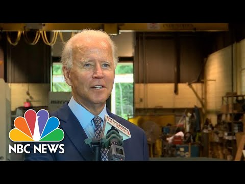 Biden: 'I Can Hardly Wait' To Debate Trump | NBC News NOW