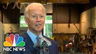Biden: ''I Can Hardly Wait'' To Debate Trump | NBC News NOW