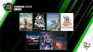 Xbox Game Pass For Pc | October 2019 Update