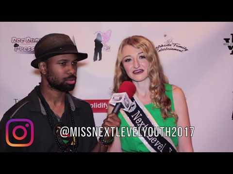 Big Vegg Miss Next Level Youth 2017 Interviews  @ The Miss Fashion Week Jersey City