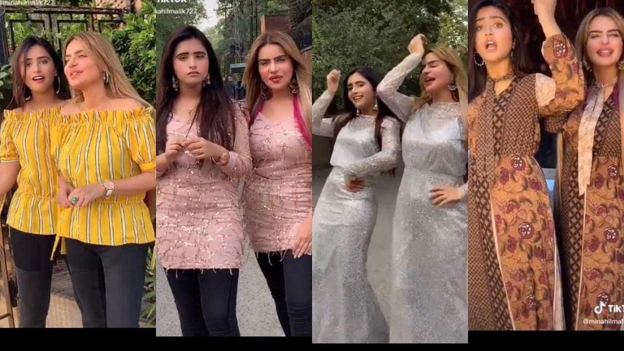 Minahil Malik and dolly fashion icon tick tock | tick tock latest 2020