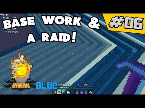 Base Work & Raiding!! | OriginMC #6 (Minecraft Factions)