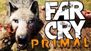 HUNTING AND TAMING WILD ANIMALS - Far Cry Primal Gameplay Funny Moments
