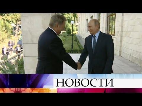 В Сочи Владимир