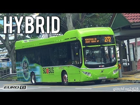 [SBST] New Diesel-Electric Hybrid Buses First Day of Revenue Service - Volvo B5LH MCV eVoRa