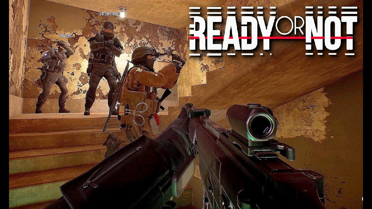 Ready or Not - Exclusive Gameplay First Look (New Tactical FPS Swat Game)  2020 - YouTube