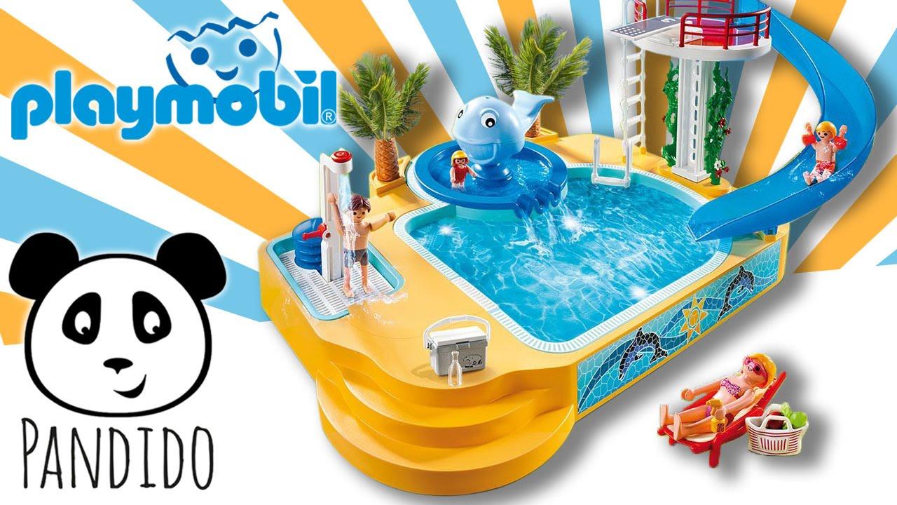playmobil schwimmbad ausgepackt und angespielt p doovi. Black Bedroom Furniture Sets. Home Design Ideas