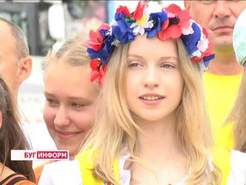 2016-06-23 г. Брест. Международный олимпийский день.  Новости на Буг-ТВ.