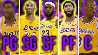 Ranking The Best ALL-TIME Starting 5's From Every NBA Team