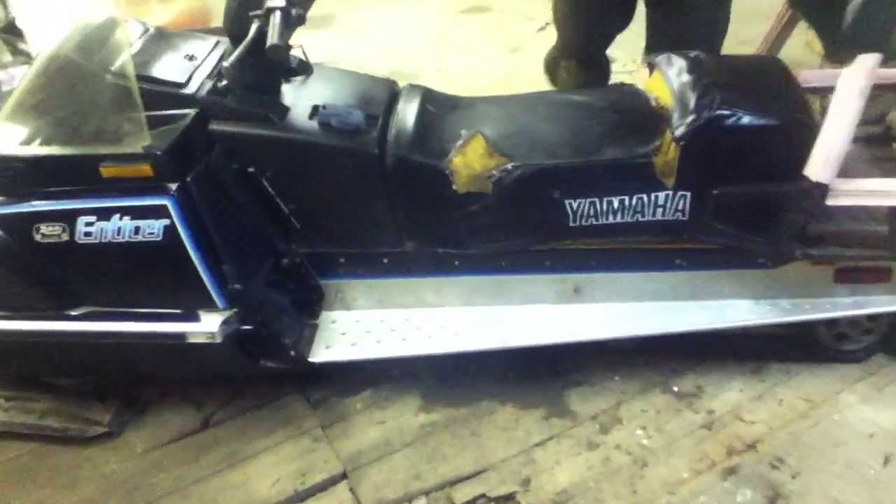 Yamaha Enticer  Snowmobile