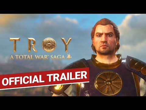 Total War: TROY / Official Trailer / A Total War Saga