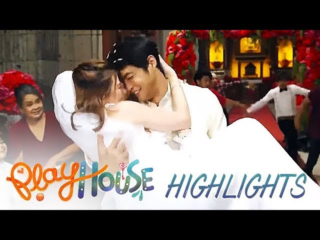 Marlon and Patty celebrate their second shot at a life together   Playhouse