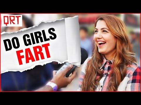Do Girls Fart ? | Delhi Girls Open Talk | Quick Reaction Team