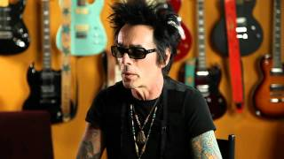 Earl Slick discusses starting Slickstraps