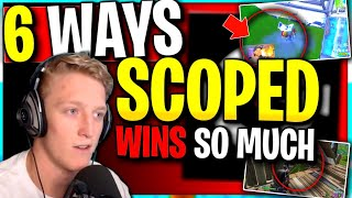 6 Reasons why Scoped WINS so much | Competitive Fortnite Tips